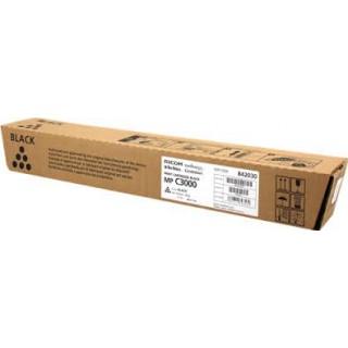 Cartouche de toner Ricoh MP C3000 Noir 842030 ancienne réf. 884946. 888540. 888640 450g pour copieur MPC2000. MPC2500. MPC3000