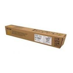 Cartouche de toner Ricoh MP C3503 Jaune 841818 pour copieur MPC3003. MPC3503
