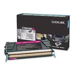 C746A1MG Toner Magenta Lexmark pour imprimante C746/dtn/dn/n, C748/e/de/dte