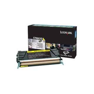 C746A1YG Toner Jaune Lexmark pour imprimante C746/dtn/dn/n, C748/e/de/dte