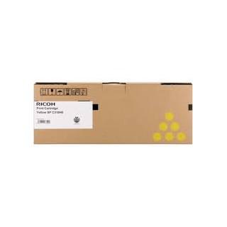 Cartouche de toner Ricoh SPC310 Jaune LC 406351 pour copieur SPC310. 311. 312. 231. 232. 242. 320