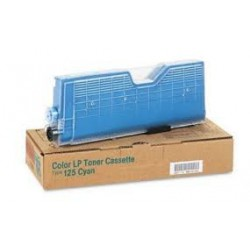 Cartouche de toner Ricoh Type 125 Cyan 400839 pour copieur CL2000. CL3000. CL3100. N. DN
