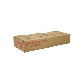 Cartouche de toner Ricoh Type 125 Magenta 400840 pour copieur CL2000. CL3000. CL3100. N. DN