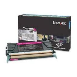 C748H1MG Toner Magenta pour imprimante Lexmark C748 de/dte/e