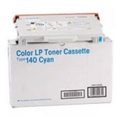 Cartouche de toner Ricoh Type 140 Cyan 402098 pour copieur Aficio CL800. CL1000N SPC210SF