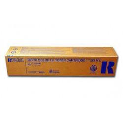 Cartouche de toner Ricoh Type 245 Cyan HC 15k 888315 360g pour copieur CL4000. SPC410. SPC411. SPC420