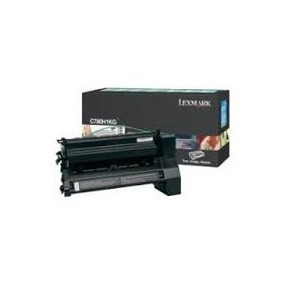 C780H1KG Toner Noir pour imprimante Lexmark C780, C782, X782e
