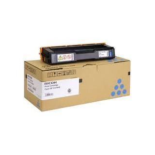 Cartouche de toner Ricoh Type SPC310 Cyan HC 406480 pour copieur SPC311. 312. 231. 232. 242. 320