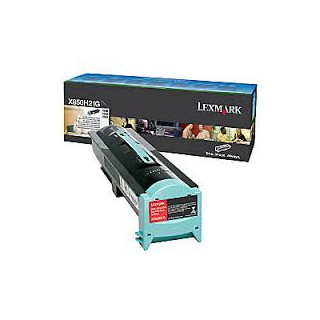 X850H21G Toner Lexmark Noir pour imprimante Lexmark X850e, X852e, X854e