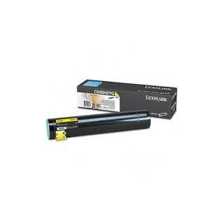 C930H2YG Toner Jaune 24k pour imprimante Lexmark C935DN/DTN/DTTN/HDN