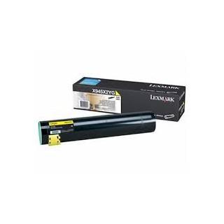 X945X2YG Toner Jaune pour imprimante Lexmark X940e, X945e