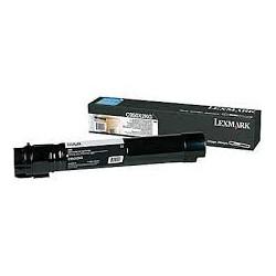 C950X2KG Toner Noir 38k pour imprimante Lexmark C950DE