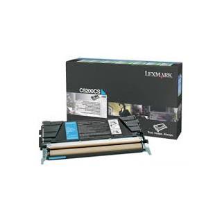 C5200CS Toner Cyan pour imprimante Lexmark Optra C530, C530dn