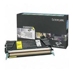 C5200YS Toner Jaune pour imprimante Lexmark Optra C530, C530dn