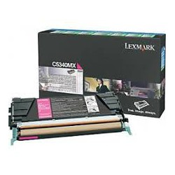 C5340MX Toner Magenta pour imprimante Lexmark C534n, C534dn, C534dtn
