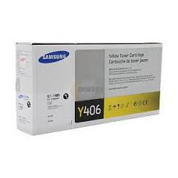 CLT-Y406S Toner Jaune pour imprimante Samsung CLP-360/365/365W/CLX3300/3305W/3305FN/3305FW