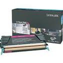 C734A2MG Toner Magenta 6k pour imprimante Lexmark C734, C736, X734, X736, X738