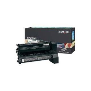 C782X1KG Toner Noir pour imprimante Lexmark C782/DN/DTN/N