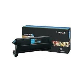 C9202CH Toner Cyan 14k pour imprimante Lexmark C920dn/dtn/n