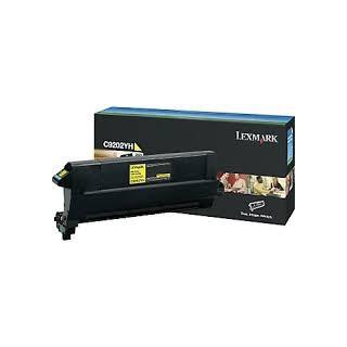 C9202YH Toner Jaune 14k pour imprimante Lexmark C920dn/dtn/n