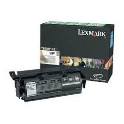 T650H11E Toner Noir 25k pour imprimante Lexmark T650dn/dtn/n, 652dn/dtn/n, 654dn/dtn/n, 656dne