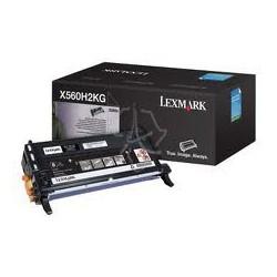 X560H2KG Toner Noir 10k pour imprimante Lexmark X560n, X560dn