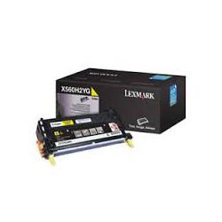 X560H2YG Toner Jaune 10k pour imprimante Lexmark X560n, X560dn