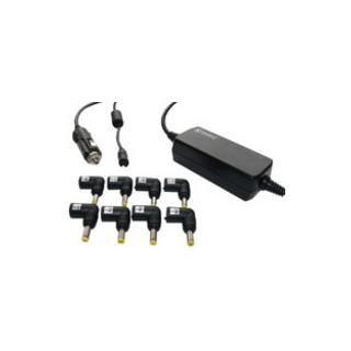 Chargeur de PC avec multi embouts pour voiture