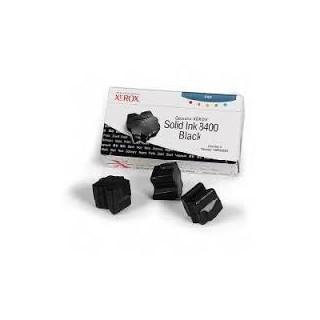 108R00604 Toner Noir Xerox x 3 pour imprimante Phaser 8400