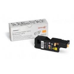106R01629 Toner Jaune Xerox pour imprimante Phaser 6000, 6010, Workcentre 6015