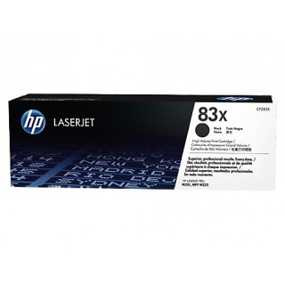 CF283X Toner Noir imprimante HP Laserjet