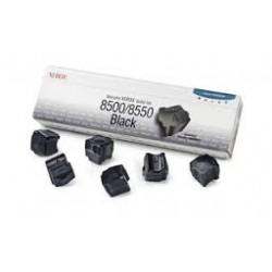 108R00672 Toner Noir Xerox x 6 pour imprimante Phaser 8500 8550
