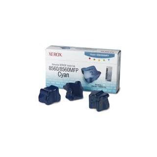 108R00723 Toner Cyan Xerox x 3 pour imprimante Phaser 8560