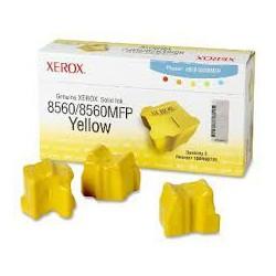 108R00725 Toner Jaune Xerox x 3 pour imprimante Phaser 8560