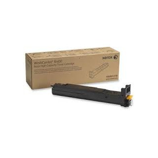 106R01316 Toner Noir Xerox pour imprimante WorkCentre 6400