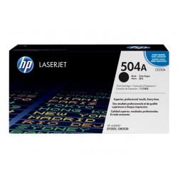 CE250A Toner Noir imprimante (HP 504A) HP Color Laserjet CM3530 CP3525