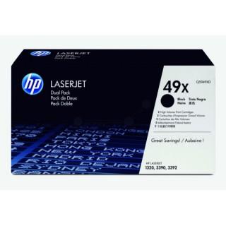 Q5949XD Toner Noir (HP 49XD) imprimante HP Laserjet 1320 3390 3392