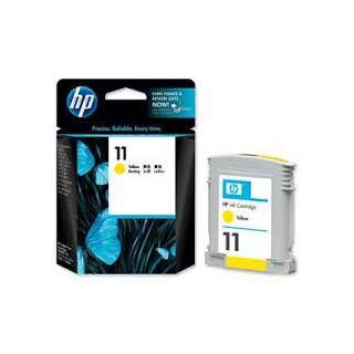 C4838AE Encre Jaune (HP n° 11) traceur HP Designjet 50 70 100 110 111 120
