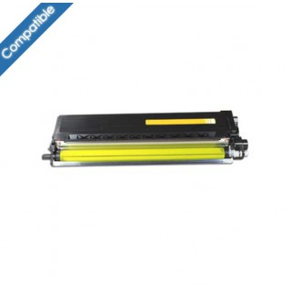 TN 325Y Toner Jaune compatible pour imprimante Brother DCP-9055CDN, 9270CDN