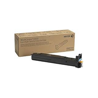 106R01317 Toner Cyan Xerox pour imprimante WorkCentre 6400