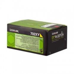 70C2XY0 Toner Jaune pour imprimante Lexmark CS510de, CS510dte