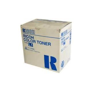 Cartouche de toner Ricoh Type L1 Cyan 887908 270g pour copieur 6010. 6110. 6513