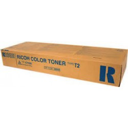Cartouche de toner Ricoh Type T2 Cyan 888486 495g pour Aficio 3224C. 3232C