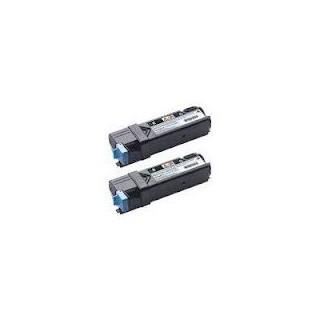 Cartouche de toner Dell 2150cn Noir HC Twin-Pack (593-11035) 2 x 3k pour imprimane Dell 2150cn, 2155cn, 2150cdn, 2155cdn