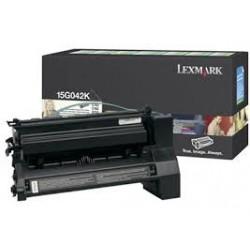 15G042K Toner Noir pour imprimante laser color Lexmark C752