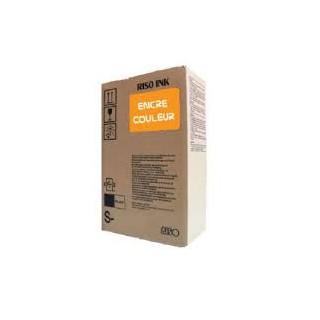 Encre Riso S-7212E Orange Fluo 2 x 1000ml pour EZ200, EZ300, EZ370, EZ570, RZ970, RZ977, MZ1070, RZ200, RZ300, RZ370, RZ570