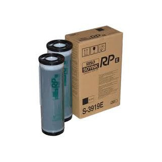 Encre Riso (S-3919E) Noir for FR/RP 2 x 1000ml pour RP31XX, RP35XX