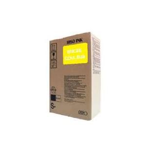Encre Riso (S-4391E) Jaune 2 x 1000ml pour V8000, RP37XX, RP31XX, RP35XX, RN2-Series, GR3770, GR3750, GR-Serie A4, FR-Serie A3