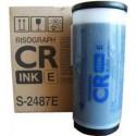 Encre Riso (S-2487E) Noir 2 x 800ml pour CR1610