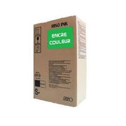 Encre Riso (S-4389E) Vert 2 x 1000ml pour V8000, RP37XX, RP31XX, RP35XX, RN2-Series, GR3770, GR3750, GR-Serie A4, FR-Serie A3